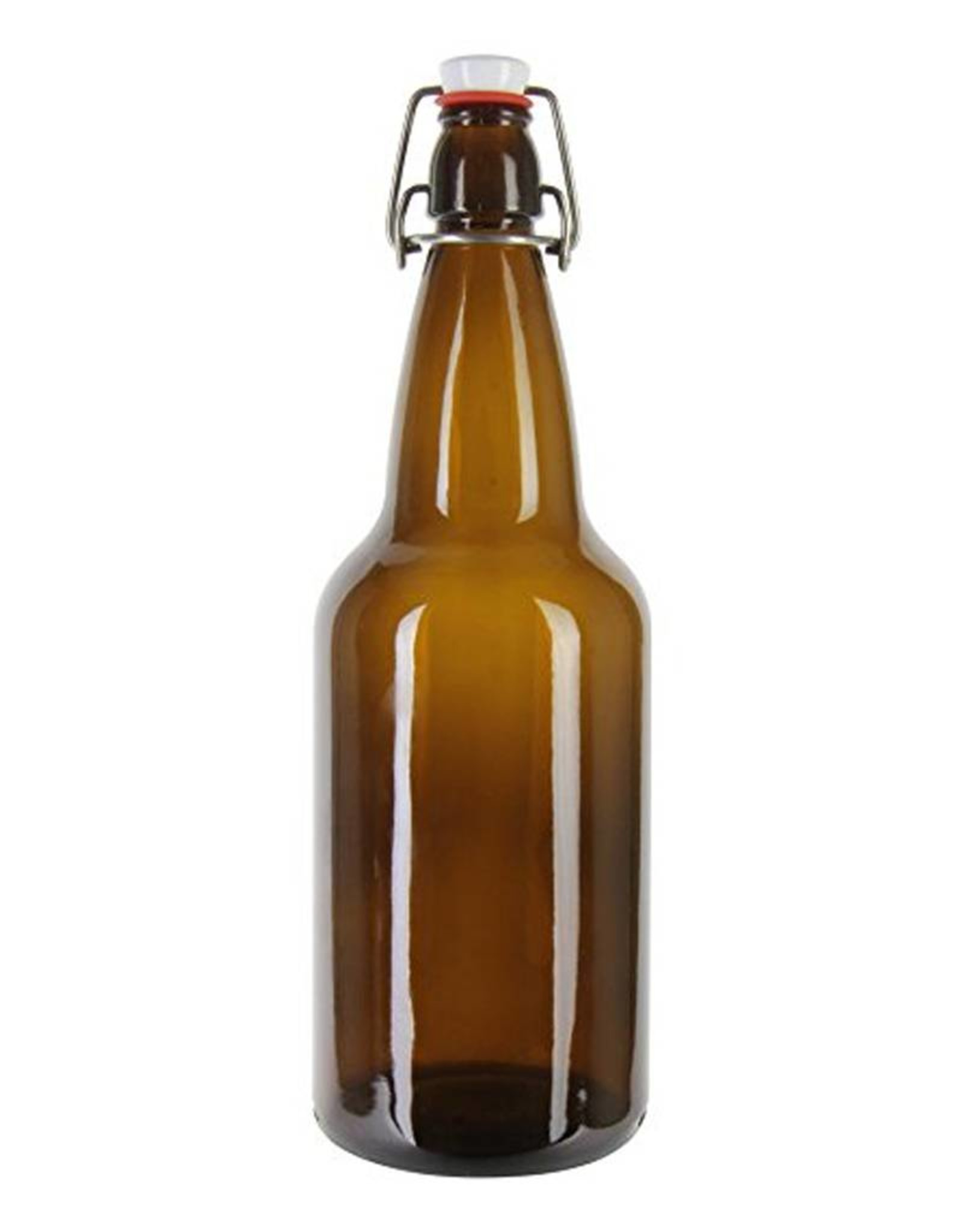 750ml Amber Flip Top - Single