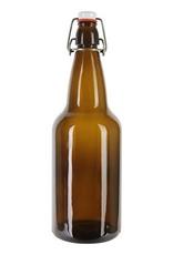 750ml Amber Flip Top - Case (12)