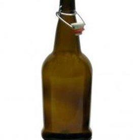 EZ Cap 1 Liter Amber Bottle Case (12)