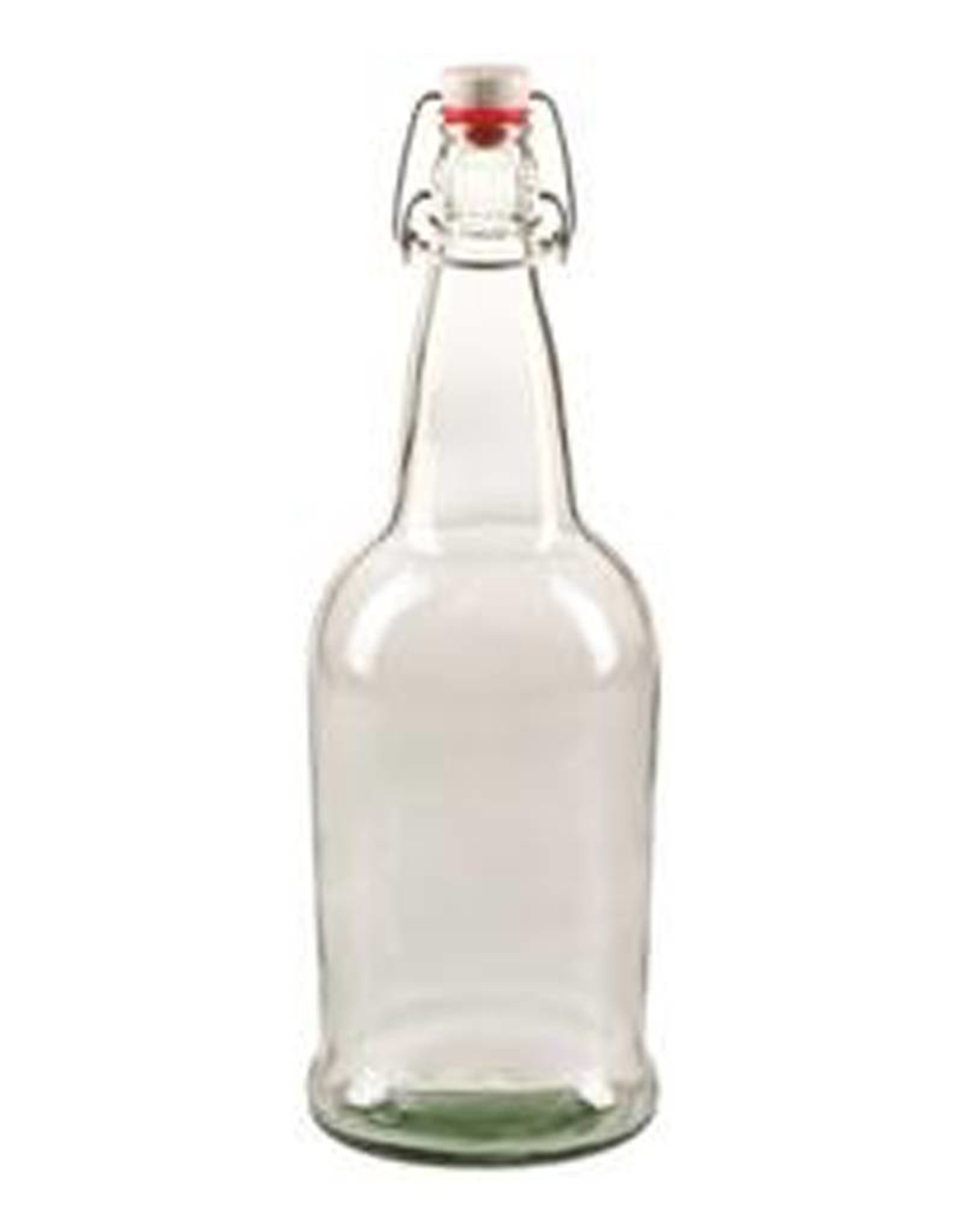 EZ Cap 1 Liter Clear Bottle Case (12)
