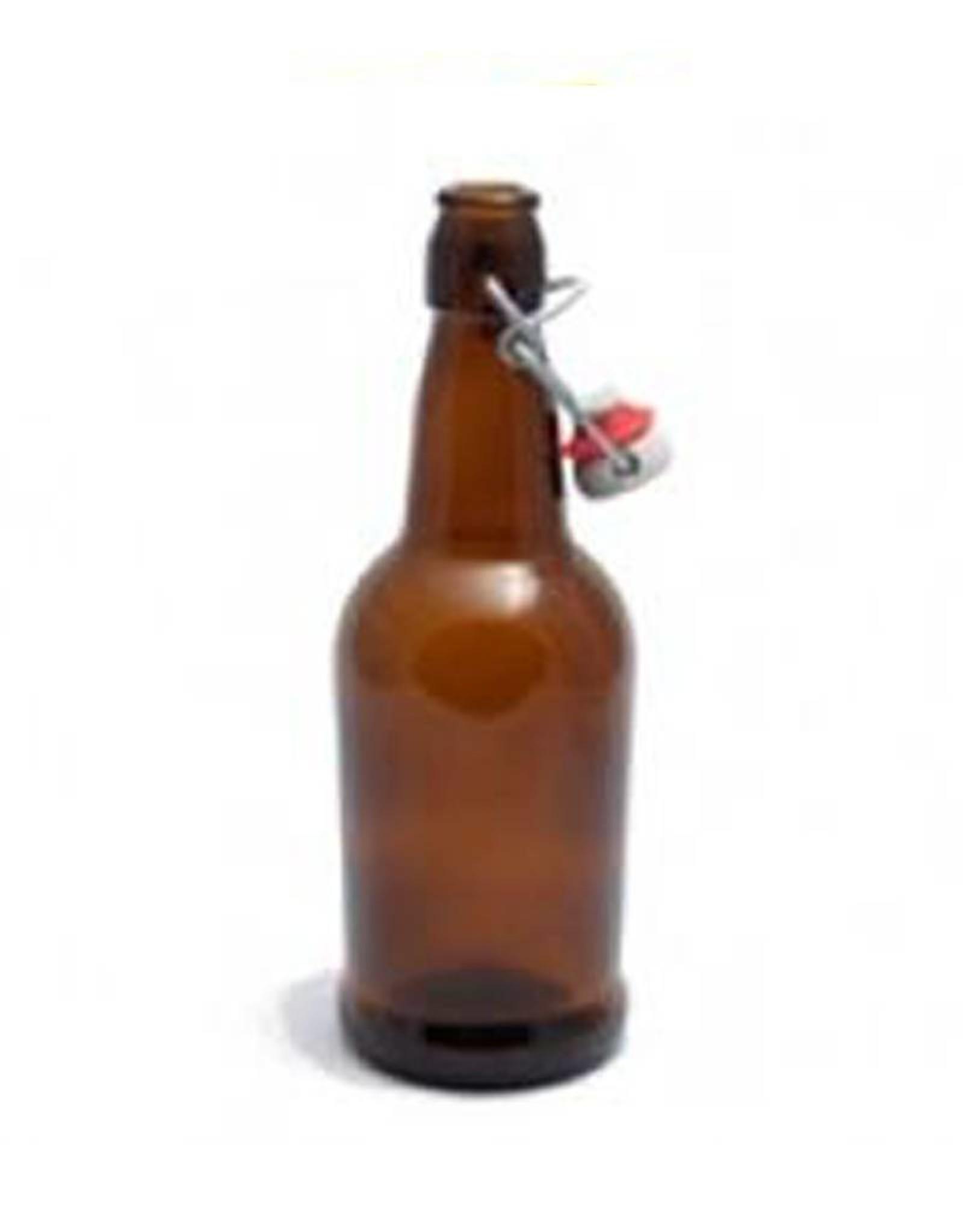 EZ Cap 16oz Amber Bottle Case (12)