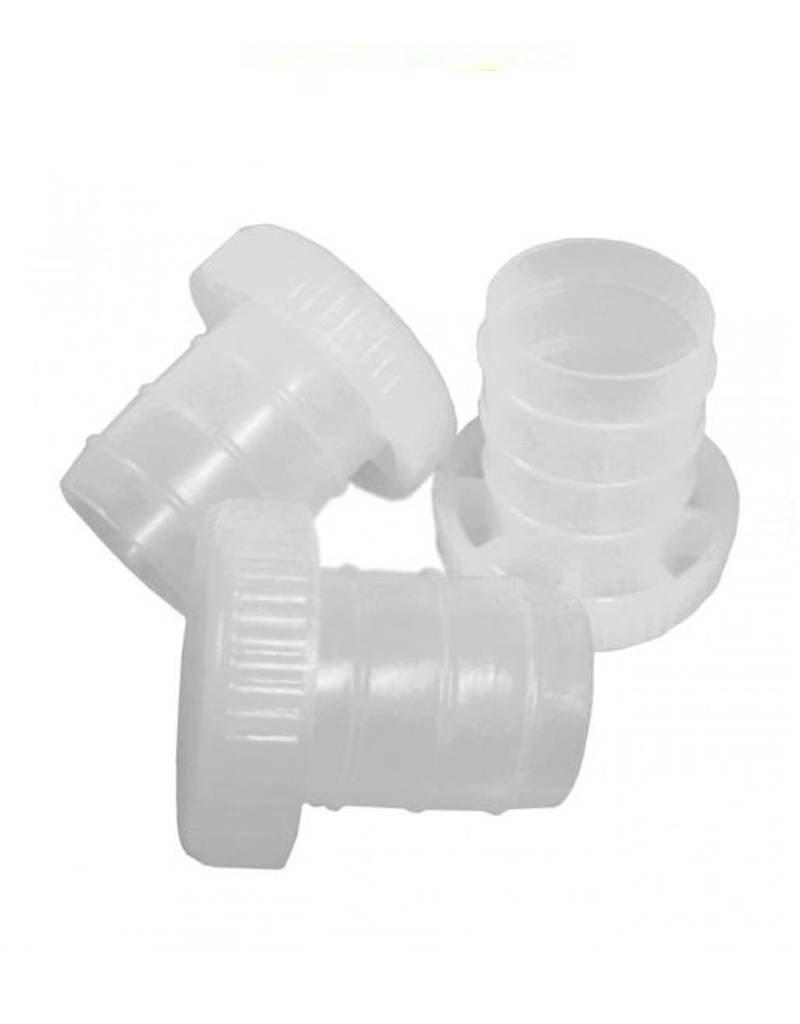 Plastic T-Cork Re-usable stopper 100pk