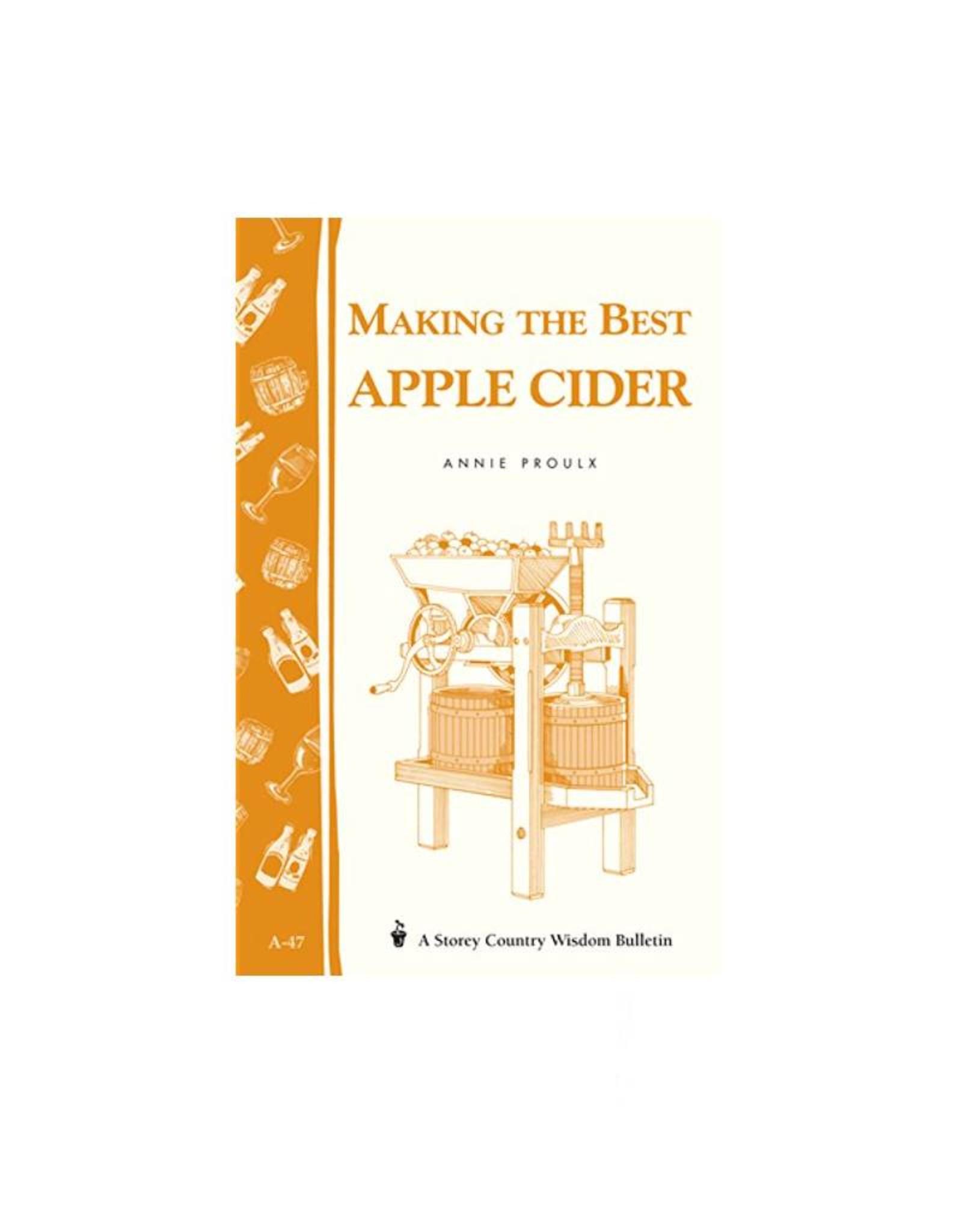 Book, Make The Best Apple Cider - Storey Publishing