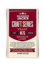 Mangrove Jack's CS Dried Yeast Bavarian Lager M76