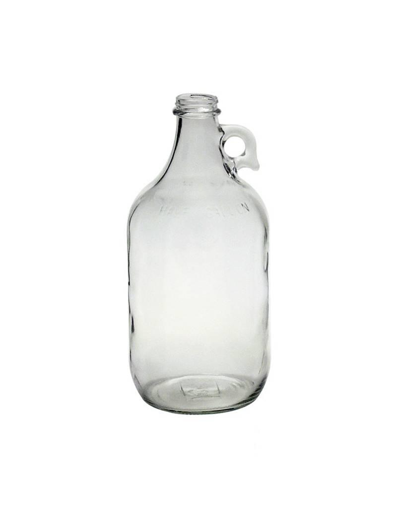 FLINT 1/2 GALLON GLASS JUG single