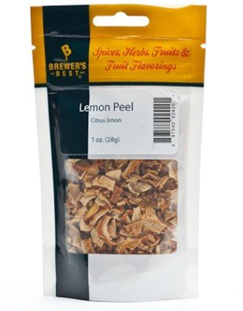 Brewer's Best Lemon Peel 1oz
