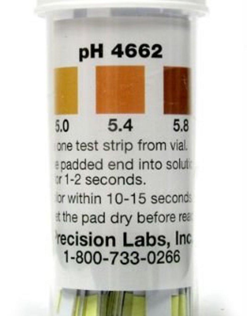 Ph Papers, 2.8-4.4 Range/Wine --- 100/Vial