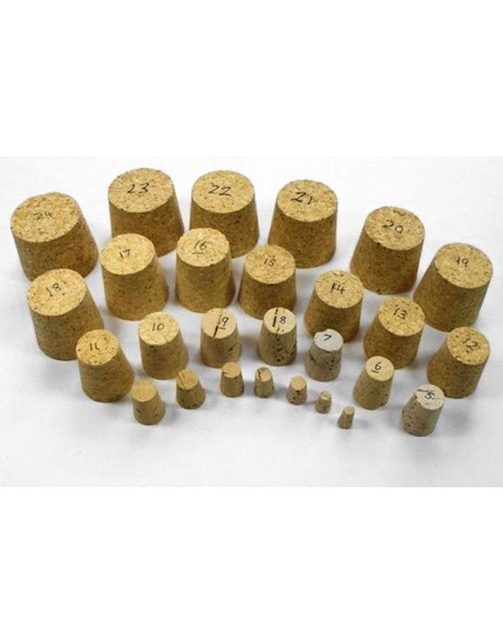 Black Synthetic Cork 21.5mm single