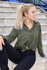 Vintage Havana Cheetah Girl Top