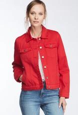 Velvet Heart Fire Denim Jacket