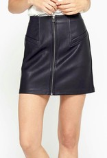 Gentle Fawn Mavis Leather Skirt