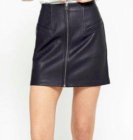Gentle Fawn Mavis Leather Skirt