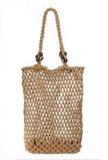Beach Day Shoulder Bag Tan