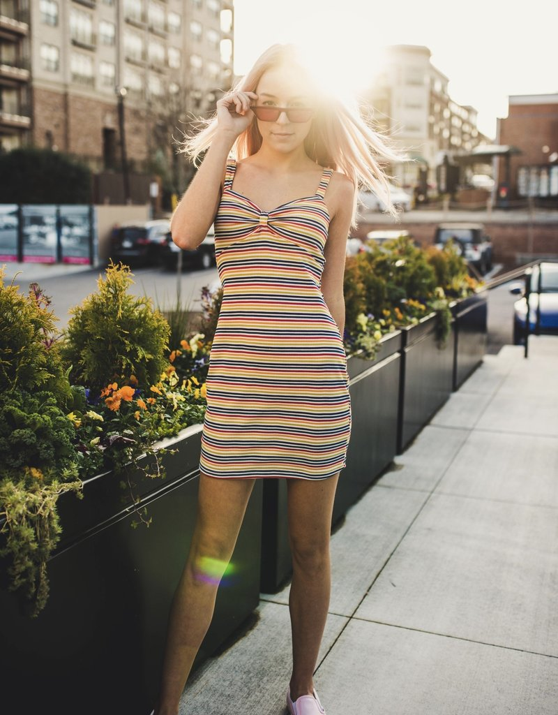 Rainbow Row Dress