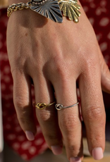 Shira Melody Jewelry Knot Ring Gold