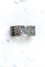 Shira Melody Jewelry Alaina Silver Cuff