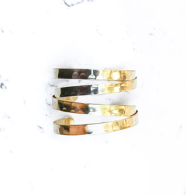 Shira Melody Jewelry Ivy Gold Cuff