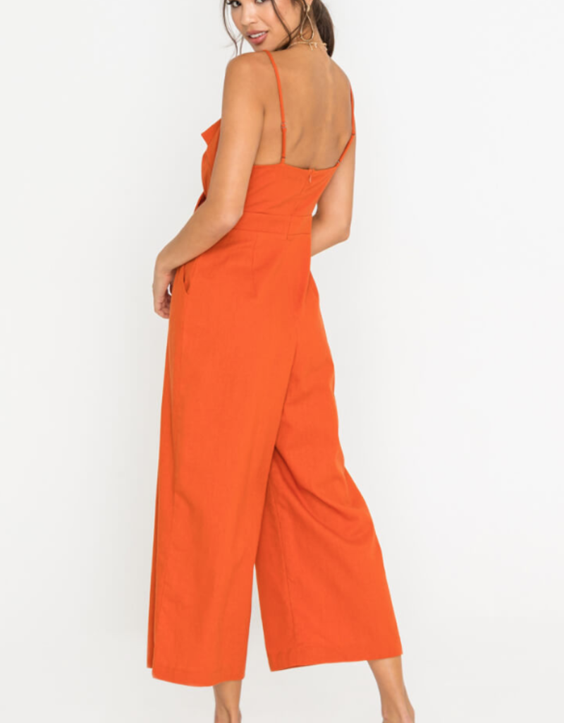 Endless Summer Jumpsuit Burnt Orange