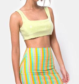 Motel Rocks Kimmy Skirt Sweet Stripe