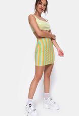 Motel Rocks Kimmy Skirt Sweep Stripe