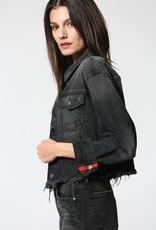 Rework Crop Denim Jacket