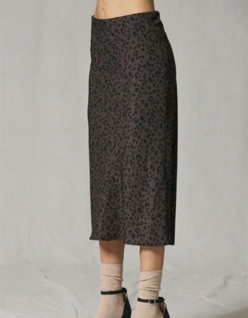 Wild Romance Midi Skirt