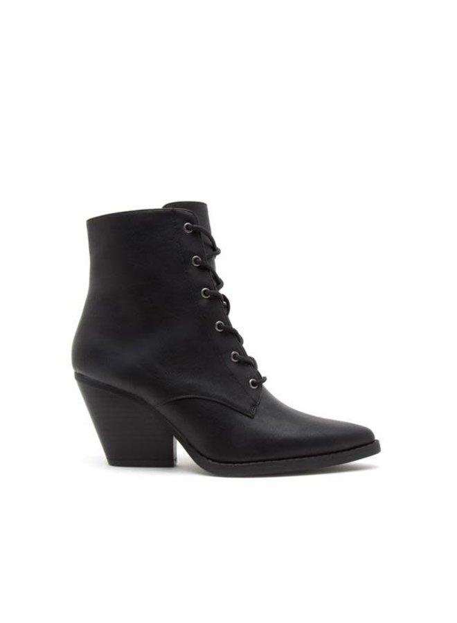 Zooey Boot Black Crinkle