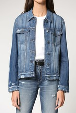 Hidden Jeans Rebel Medium Wash Classic Fitted Jacket