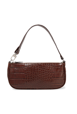 Bella Mar Bella Retro Tote Brown Crocodile