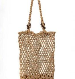 Beach Day Shoulder Bag Brown