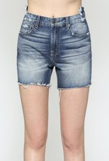 Hidden Jeans Sofie Uneven Waistband High Waisted Shorts