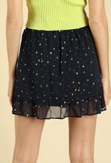 Honey Punch Wish I May Mini Skirt