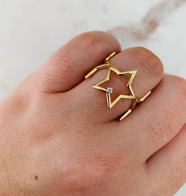 ALV Jewels Lucky Star Ring