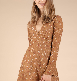 Wild Honey Morning Coffee Mini Dress