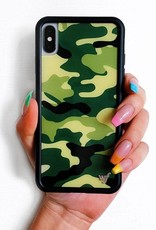 Wildflower Green Camo iPhone Xr Case