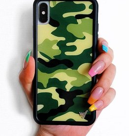 Wildflower Green Camo iPhone Xr Case