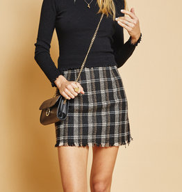 Sage the Label French Duo Mini Skirt