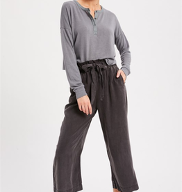 Bella Mar La Flare Crop Pant Charcoal