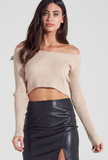 Bella Mar Starving Artist Crop Sweater