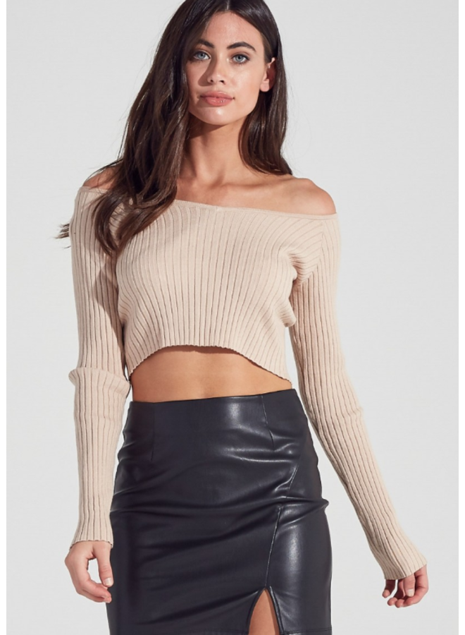 Starving Artist Crop Sweater