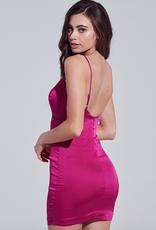 Bella Mar Truth Hurts Mini Dress Berry