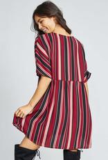 Bella Mar Wild Ways Stripe Dress