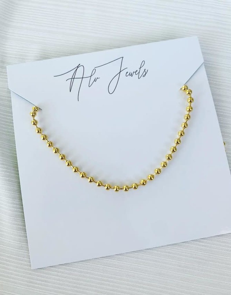ALV Jewels Ball Chain Necklace