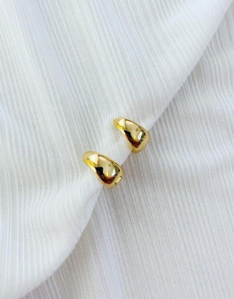 ALV Jewels Gold Huggies