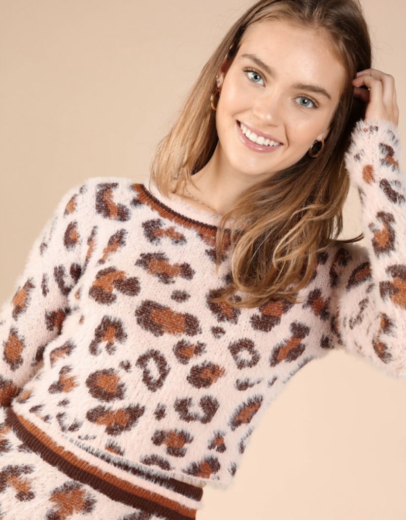 Wild Honey Like a Cat Sweater