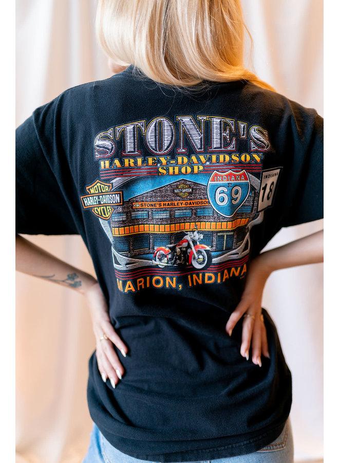 Stone's Harley-Davidson Tee