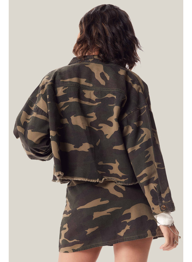 Catch Me Camo Jacket