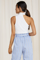Bella Mar Violette One Shoulder Top