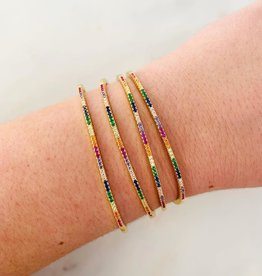 ALV Jewels Thin Rainbow Bangle