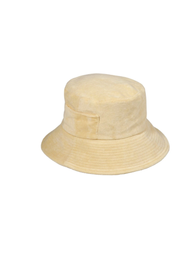 Wave Bucket Yellow Terry